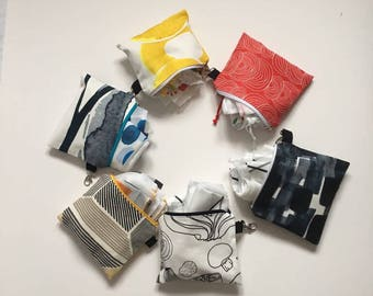 Pouch for Zero Waste Shopping Bags