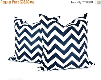 15% Off Sale Pillows  Decorative Throw Pillow Covers Blue Pillow Navy Pillow Covers Home Decor Nautical Decor 18x18 Pillow Covers Accent Pil