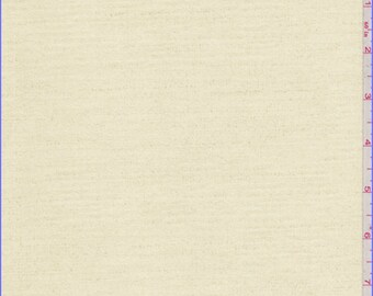 Creamy Yellow Print Ultrasuede, Fabric By The Yard