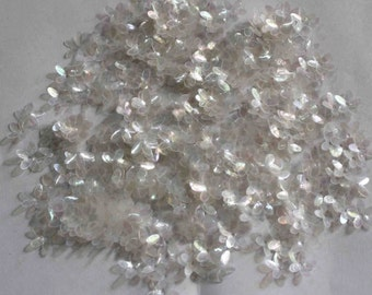100 Transparent Flower sequins/3D shape/KBSF673