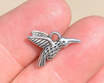 1  Silver Hummingbird Charm SC1421