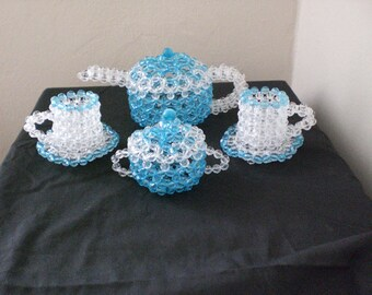 beaded tea-set ( decjr)