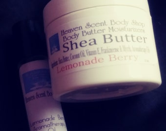 Lemonade Berry -All Natural Whipped Body Butter
