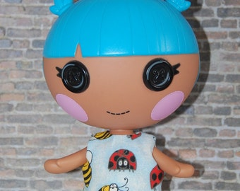 "Lalaloopsy Littles 7"" doll clothes -LadyBug and Bumble Bees - tkct025"
