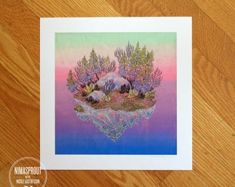 Firefly Biome - Fine Art Print by Nicole Gustafsson