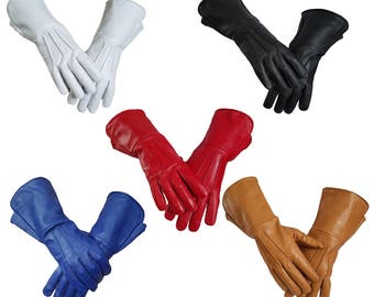 Parade, Marching ,Power Ranger, Super Hero Leather Gloves