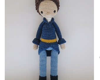 Mr Darcy - Crochet Pattern by {Amour Fou}