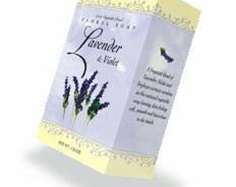 4.25oz Lavender & Violet Soap