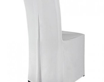 Stuhlhusse cover in white