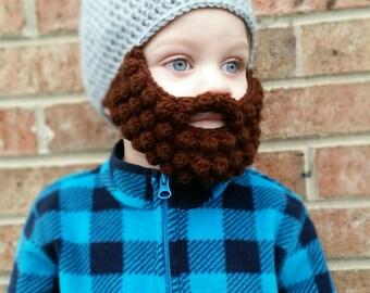 Crochet Beard Hat, Beard Beanie, Baby Beard Hat, Baby Beard, Lumberjack Hat, Crochet Beard Beanie, Baby Beard Beanie