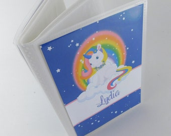 Girl Photo Album Baby Photo Album Unicorn Rainbow Personalized Girl Photo Book Grandmas Brag Book Horse Pony 4x6 5x7 picture 655
