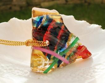Murano Glass Free-form Pendant