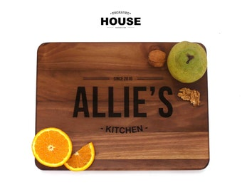 Engraved custom, chopping board, engraved, wood cutting board, wedding gift, anniversary gift, housewarming gift, birthday gift
