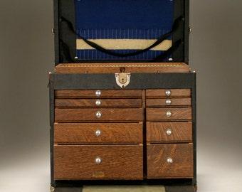 Vintage Watchmaker's Tool Box