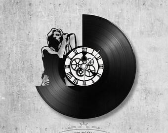 Vinyl 33 clock towers theme Bon Jovi