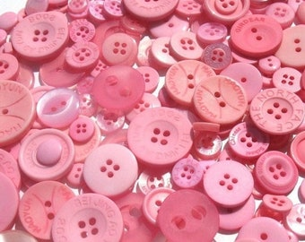 50% OFF - Cotton Candy Pink - Button Selection