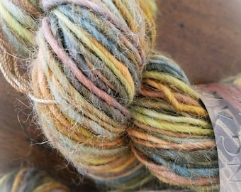 Alpaca Hand Spun Multicolored Yarn
