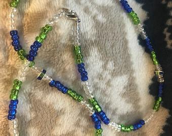Seahawks/Origional/one of kind necklace