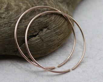 Gold hoop earrings open hoop earrings circle hoop earrings 1 inch hoop earrings 1 inch hoops gold hoops gold hoop earings minimalist earings