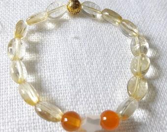 citrine bracelet child