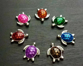 Turtle Floating Charm for Floating Lockets-Choose One-Gift Idea