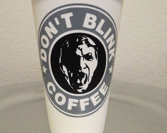 Doctor Who...Weeping Angel...Don't Blink Tumbler