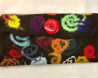 Fanciful Felted Pouch