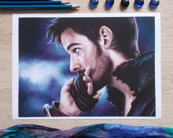 Always A Gentleman (Captain Hook) - Once Upon A Time print