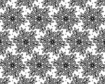 Downloadable Mandala Designs & Prints Coloring Pages (set of 5) SET A12