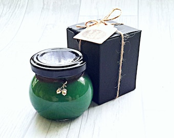 Aromatherapy Candle Breathe Easy, anti viral candle, anti cold and flu candle, handmade soy wax candle