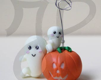 Halloween placeholder ... pumpkin and Ghost