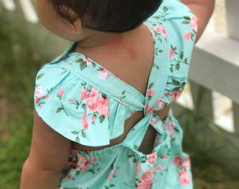 Maryland Button Romper