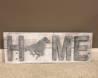 Rustic Home Sign