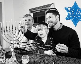 15 Hanukkah Overlays
