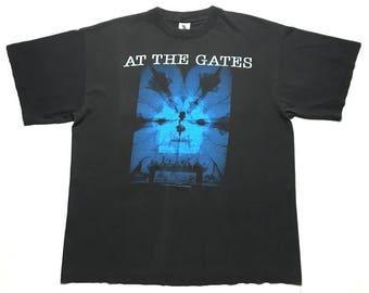 AT THE GATES vintage 1993 shirt - xl