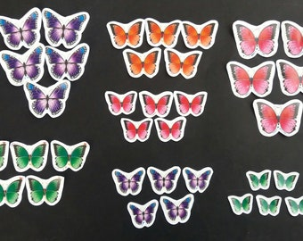 Set of 35 Butterfly Cut Outs