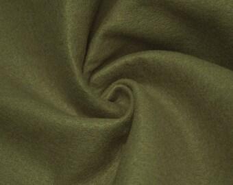 Charlotte LIGHT OLIVE  Acrylic Felt Fabric by the Yard - Style 3003