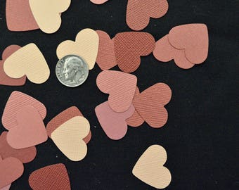 Red and Pink Heart Confetti 250 Count