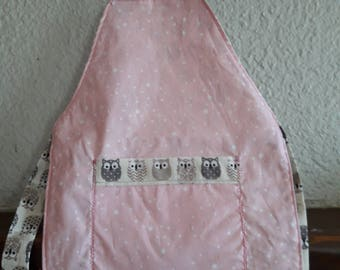 Apron pink and white stars.  2/4 years