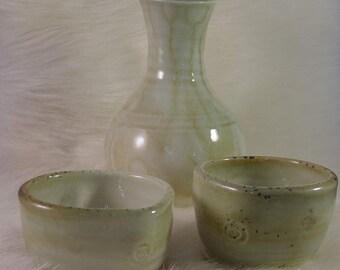 porcelain sake set