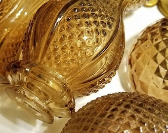 Lamp parts etsy vintage lamp glass parts and brass parts vintage glass glass lamp parts aloadofball Choice Image