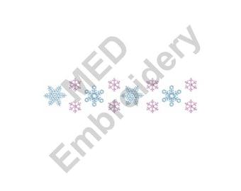 Snowflakes - Machine Embroidery Design