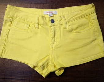 easter yellow shorts