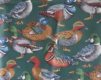 VIP Print-1994 realistic ducks - Chintz-35 x 44 Inc. (90 cm x 114 cm-) never used..