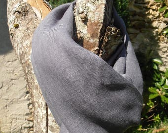 CHEICH 100% linen grey color
