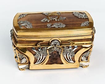 "Silver Jewelry box ""Modern"""