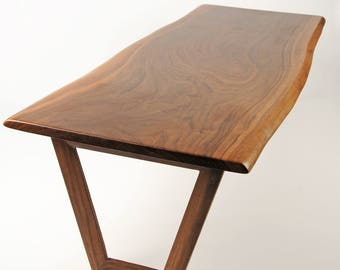 Natural Edge American Walnut Coffee Table - Large