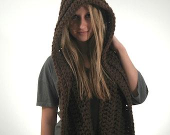 CROCHET HOOD PATTERN/crochet hood