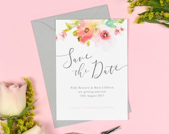 Juliette Wedding Save The Date cards