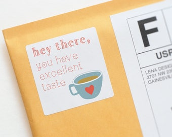 Cute Packaging - Thank You Stickers - Packaging Stickers - Business Thank You - Mug Stickers - Product Packaging Sticker - Appreciation Gift